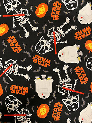 Star Wars Darth Vader - Glow in the dark - Halloween Fabric Material