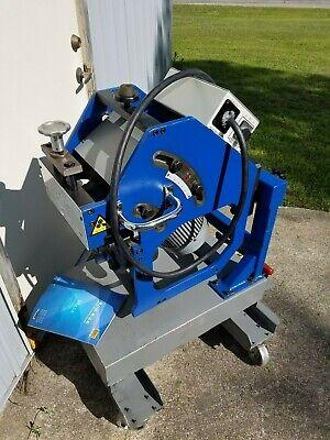 Free Ship Giret Gbm-12c Platepipe Beveling Beveler Machine Whydraulic Cart