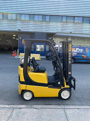 Yale Glc030vx 3000lb Cushion Forklift Lpg Lift Truck