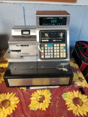 Rare TEC FS-150 Cash Register
