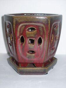 Ceramic Orchid Pot Ebay