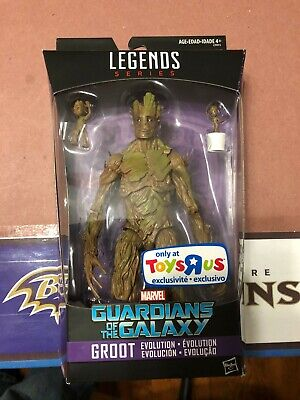 Marvel Legends Groot Evolution TRU Exclusive Toys R Us - Ships NOW