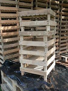 Caisse en bois pour pomme de terre