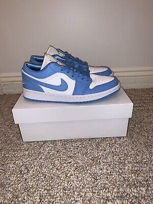 Nike Air Jordan 1 Low UNC University Blue 8.5W / 7M - AO9944-441