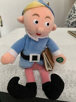 "Stuffins Hermey the talking Misfit Elf w/ Dentistry Book 11"" shelf plush ornamnt"
