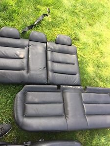 Leather seats jetta volkswagen 2000