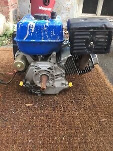 powerfist motor with electric start. Cement/mortar mixer