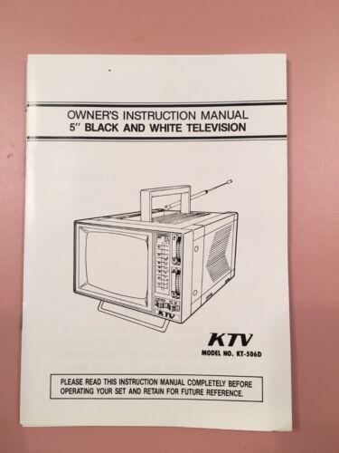 Vintage KTV KT-506D Owner