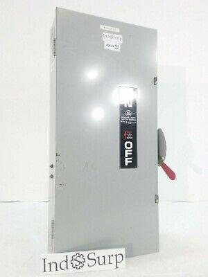 Ge 200 Amp Disconnect 240 Volt Type 1 Indoor Enclosure