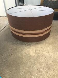 "Huge ""drum"" light shade Rosewater Port Adelaide Area Preview"