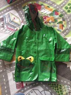 Raincoat - green froggy Breakfast Point Canada Bay Area Preview