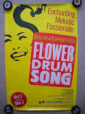 Flower Drum Song Musical Poster Rodgers and Hammerstein 2001 Lea Salonga