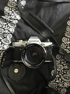Vintage Olympus OM10 Camera w/ 4 Lenses and a bunch of filters