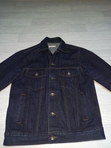Veste en jean homme, taille m. the unbranded brand. selvedge.