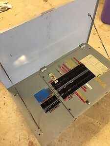 Loaded ITE / Siemens Electrical panel