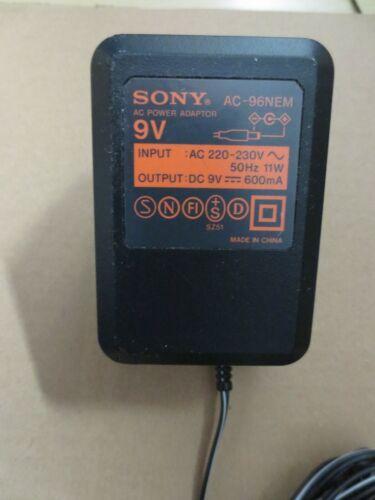 Original Netzteil Sony AC-96NES Output: DC 9V-600mA u.a. für D-515 Discman