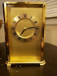 Seiko Quartz Clock Mantle with Westminster - Whittington QQF149G