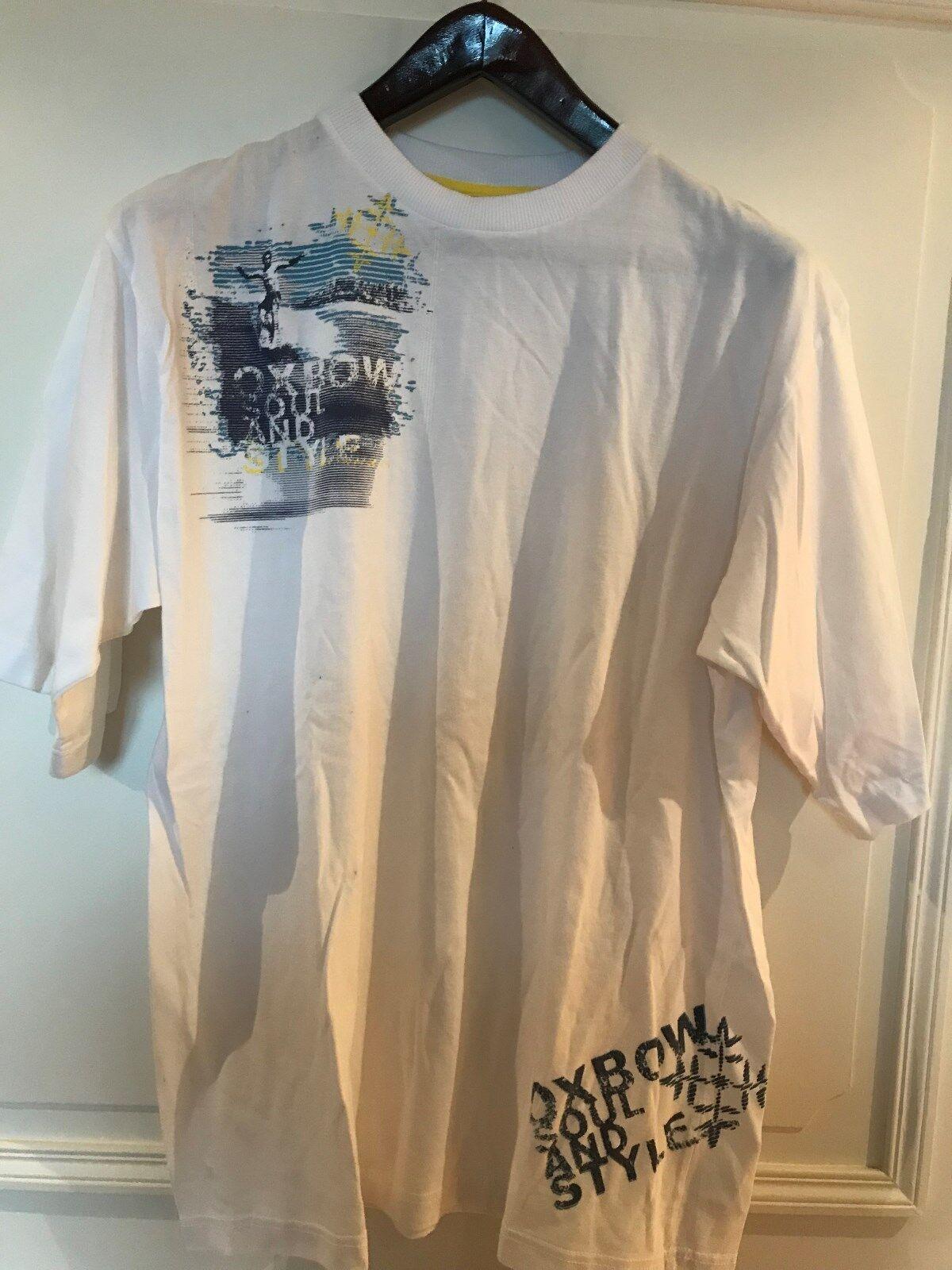Tee shirt coton marque oxbow taille 16 medium
