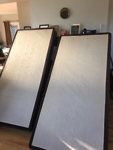 King bed box spring- two part