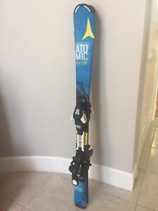 Atomic Kids 110 skis with bindings