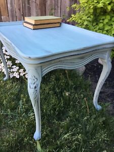 Antique side table, end table