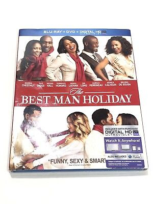 The Best Man Holiday Morris Chestnut Nia Long Tate Diggs Blu-Ray+DVD