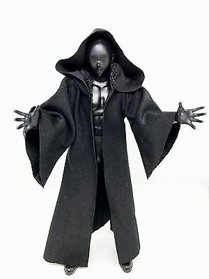 MY-R-BK: FIGLot Black Fabric Cloak Robe for 6