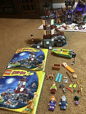 Lego 75903 Scooby Doo Haunted Lighthouse With Instructions, Rare Retired, Read!!