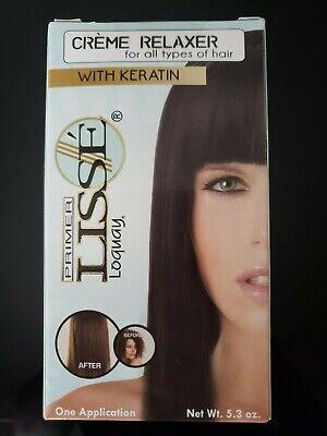 LOQUAY PRIMER LISSE CREAM HAIR RELAXER W/KERATIN CREMA ALACIANTE CON QUERATINA