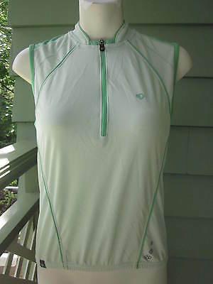 PEARL IZUMI SLEEVELESS CYCLING JERSEY PERFORMANCE TOP SHIRT Women's S RARE 2007