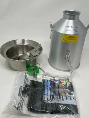 KELLY KETTLE Scout Stainless Steel Pot 1.2 LITER / 41 oz Whistle LN