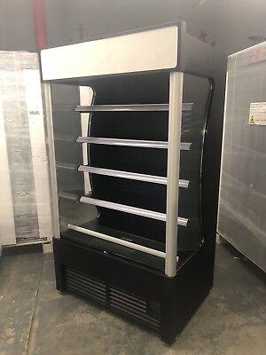New Open Air Merchandiser Refrigerator Grab And Go Cooler Air Curtain Grab N Go