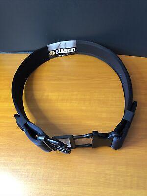 Bianchi Medium 34-40 Waist 7200 Nylon Duty Belt W Coplok Buckle Black 17381