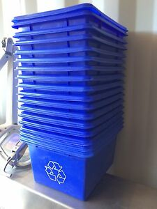 small recycling containers