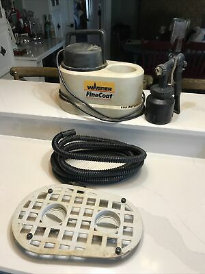 Wagner Finecoat 0275030 Hvlp Turbine Sprayer Finishing System Whose Attachment