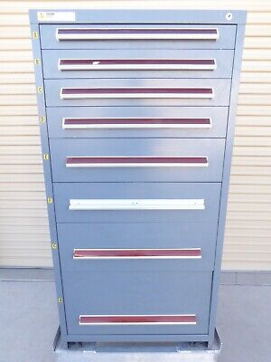 Stanley Vidmar 8 Drawer Tool Shop Tool Equipment Material Storage Cabinet 2