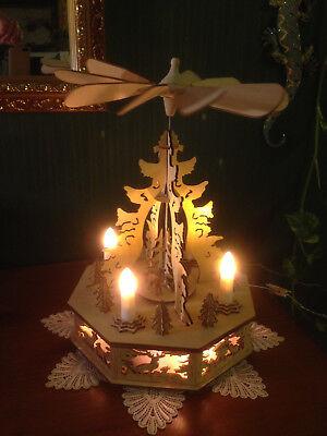 32 cm elektrische Weihnachtspyramide Pyramide Weihnachten 60741 SCH