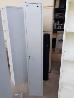 SINGLE LOCKER UNIT cabinet storage office work study shed garage