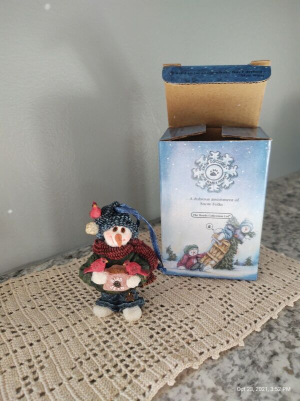 """Boyds Bears And Friends Snow Doodles """"Willy B. Speedy Winged Friends"""" Ornament"""