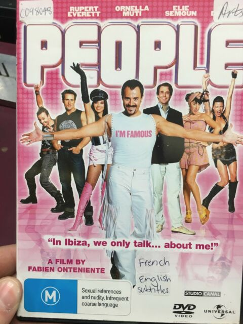 People ex-rental region 4 DVD (2004 French comedy movie) RARE