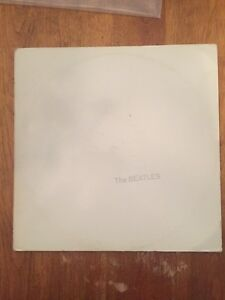 The Beatles 'White Album'  Double Lp.