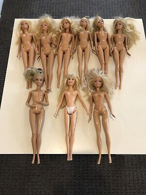 Barbie Doll Lot #2 - Nine (9) Dolls from 2007 and 2009