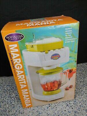 Nostalgia Electrics Margarita Mania Machine Blend Frozen Drinks New