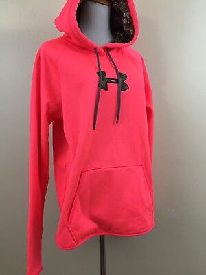 NWT Under Armour Womens Large Loose Cold Gear Waterproof Storm Hoodie Pullover