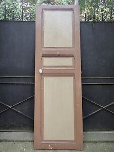 Ancienne porte int rieur 208 x 66 5 cm bois ebay for Interieur 66
