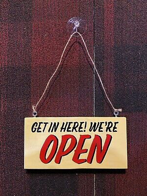 Hand Painted Openclosed Sign