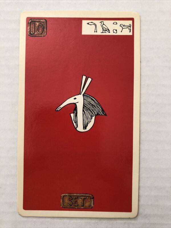 Cartouche Set Card 10 Single Card Only No Box