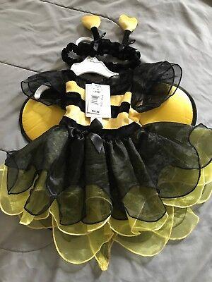 infant girl bee costume size 6/9 mth  - Baby Girl Bee Costume