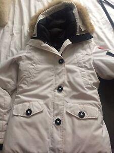 White Canada Goose Jacket