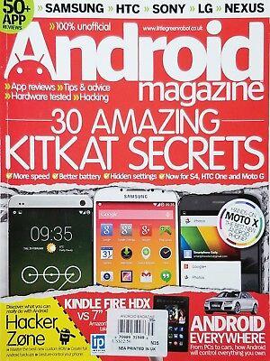 Android Magazine - ANDROID MAGAZINE,    30 AMAZING KITKAT SECRETS     DISCOVER THE TASTY SECRETS^